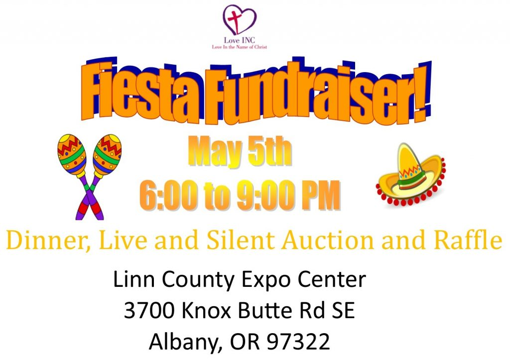 Join us May 5th for our Fiesta Fundraiser