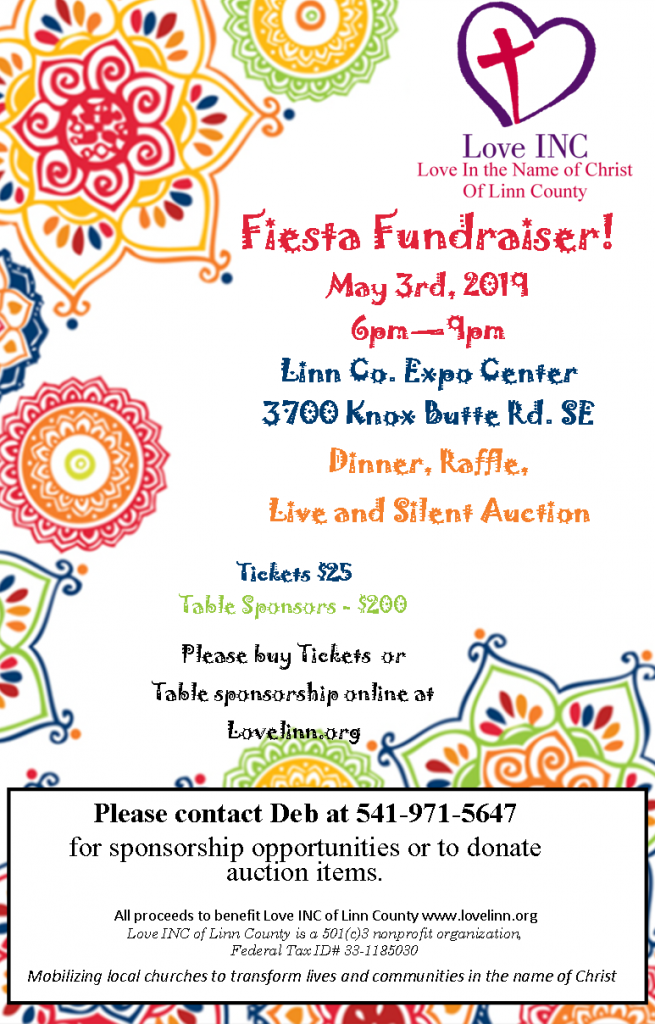 We need your help. Support us at our May 3rd Fiesta Fundraiser.